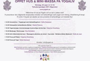 Hälsomässa på Yogaliv!